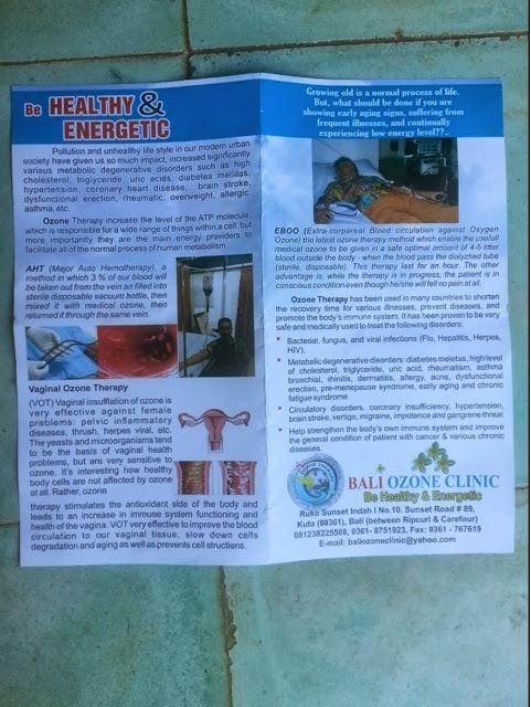 bali ozone clinic | The Power of Ozone