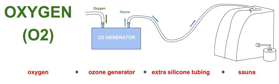 ozone sauna diagram