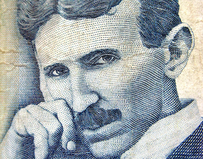 Nikola Tesla, the inventor of the first cold plasma ozone generator