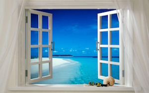 open windows when using ozone at home