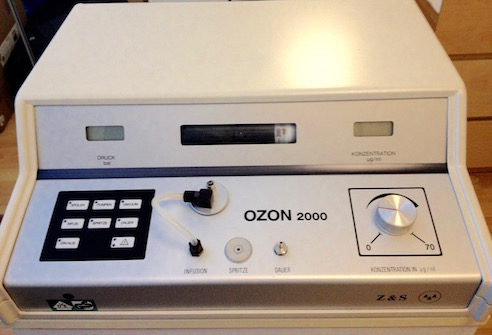 Zotzmann Ozon 2000 for the Ozone High Dose