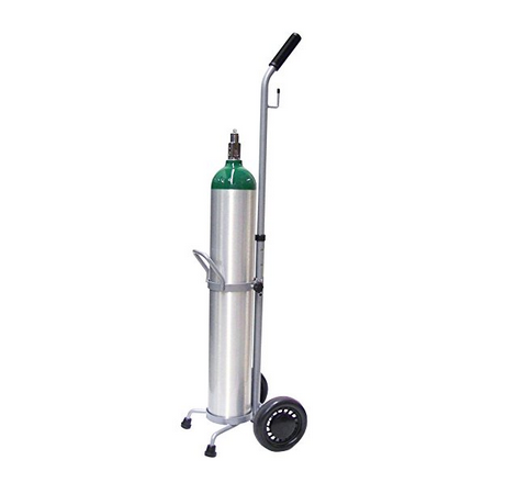 Oxygen cart for home ozone safety