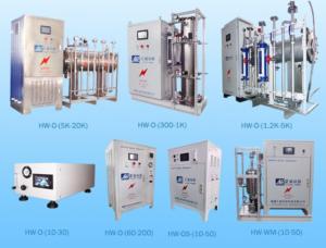 Industrial ozone generators
