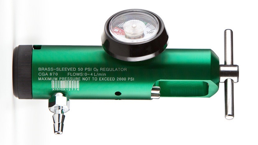 cga 870 regulator promolife for oxygen tank