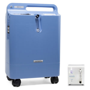 Respironics Everflo oxygen concentrator for home ozone