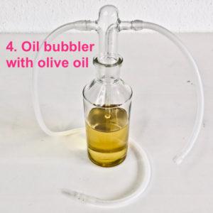 Oil bubbler
