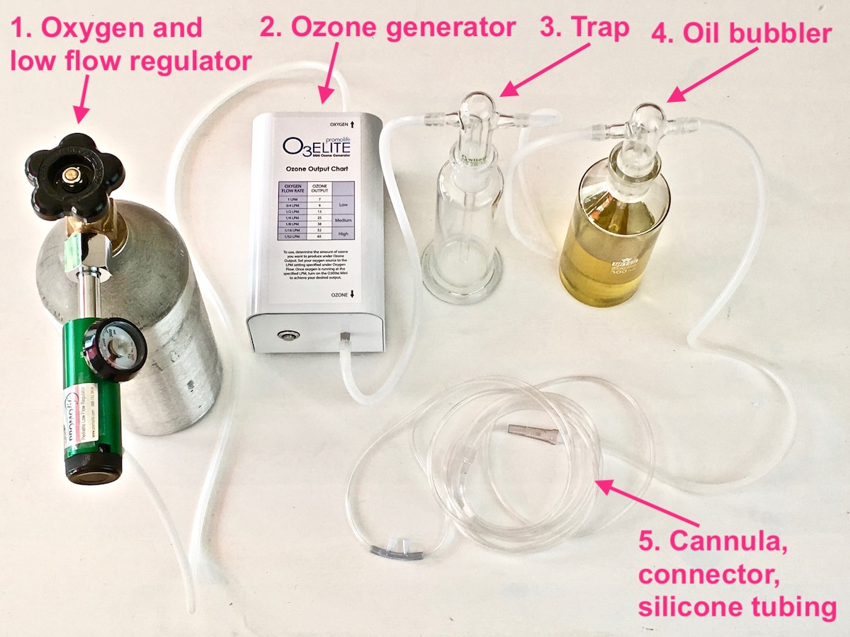 ozonated oil breathing
