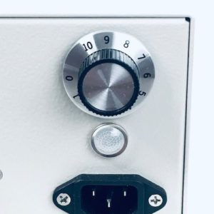 HTU-500 ozone generator dial knob detail