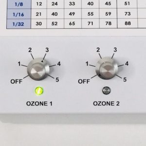 Promolife Dual Cell dial knobs detail