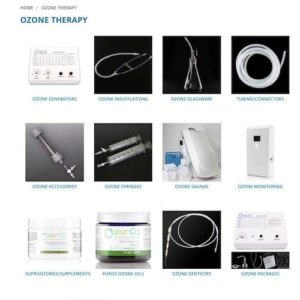 Promolife Ozone therapy online shop screenshot