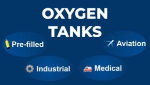 Oxygen tanks diagram