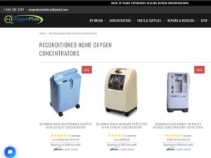 refurbished oxygen concentrator for buying an ozone generator