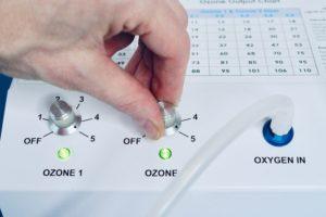 17 turn ozone generator to max hand