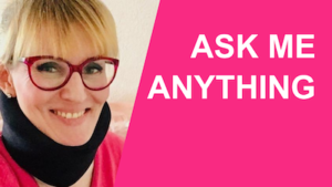 Ask me anything widget