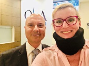 Dr. Gilete and Paola