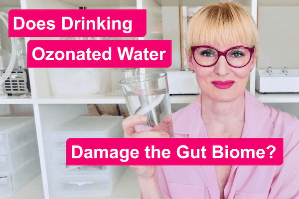 Does Drinking Ozonated Water Damage the Gut Biome?