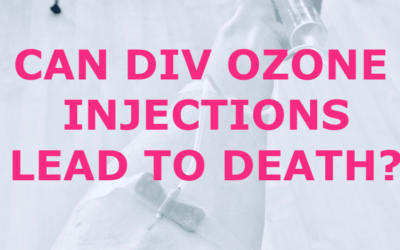 Can DIV Ozone Injections Lead to Death?