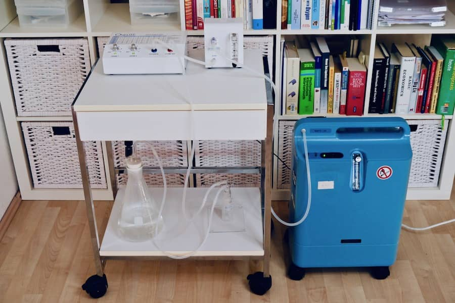 home ozone therapy - ozonated water