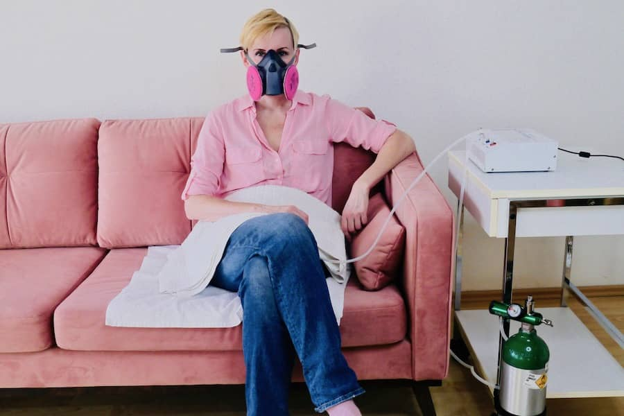 home ozone therapy - vaginal insufflation