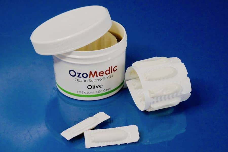 home ozone therapy - ozonated olive oil