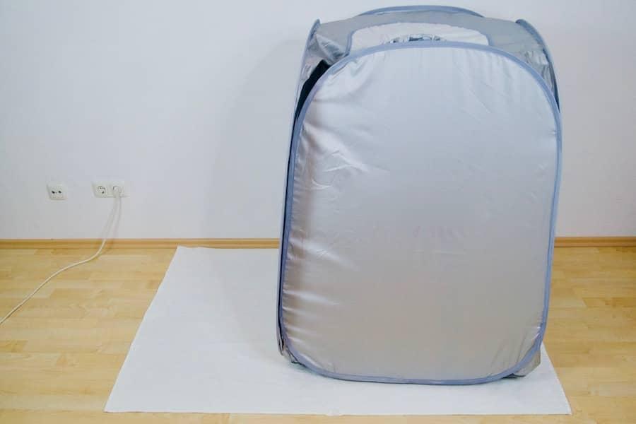 105 tent open