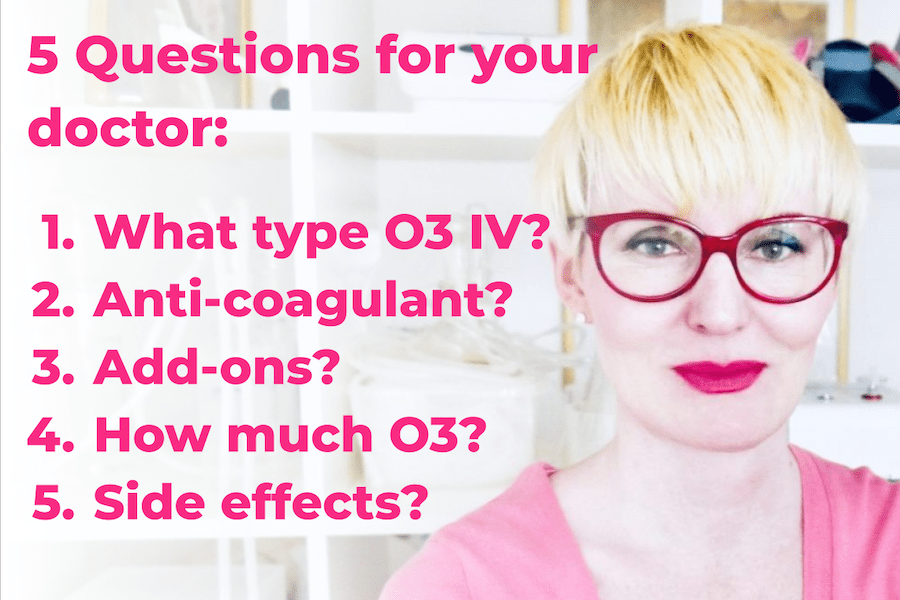 5 Questions You Should Ask Your Doctor Before Getting an Ozone IV