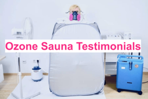 Ozone sauna testimonials feat. pic