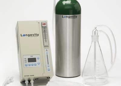 Longevity EXT120 kit with oxygen tank