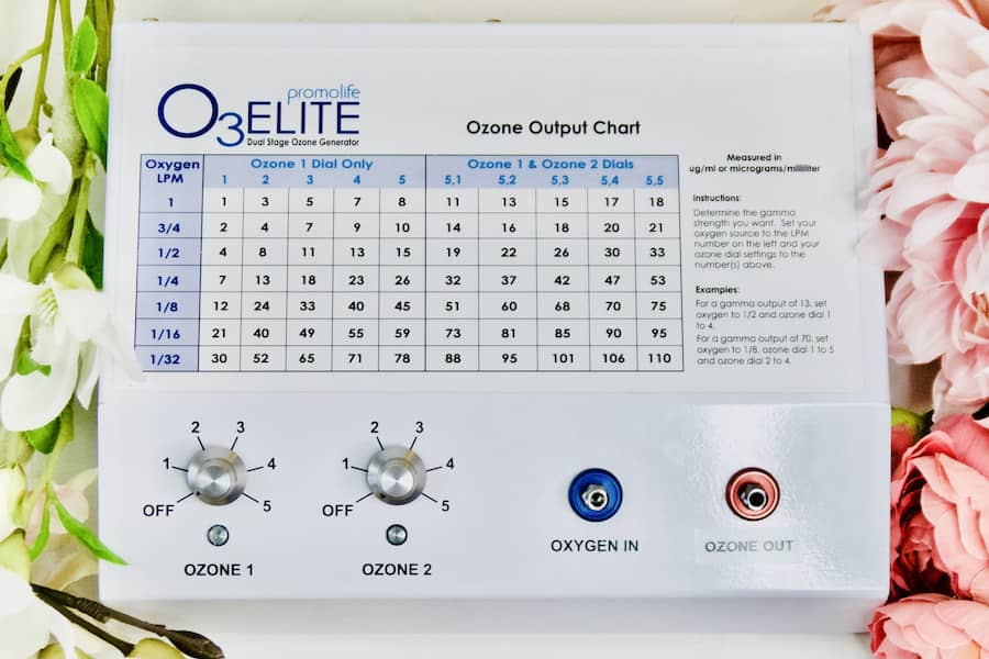 Promolife Dual ozone generator for ozone therapy