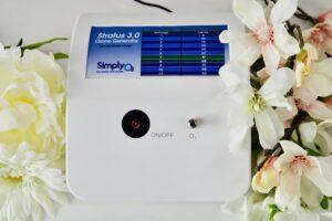 SimplyO3 Stratus 2 ozone generator top view