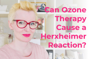 Can ozone therapy cause a Herxheimer reaction?
